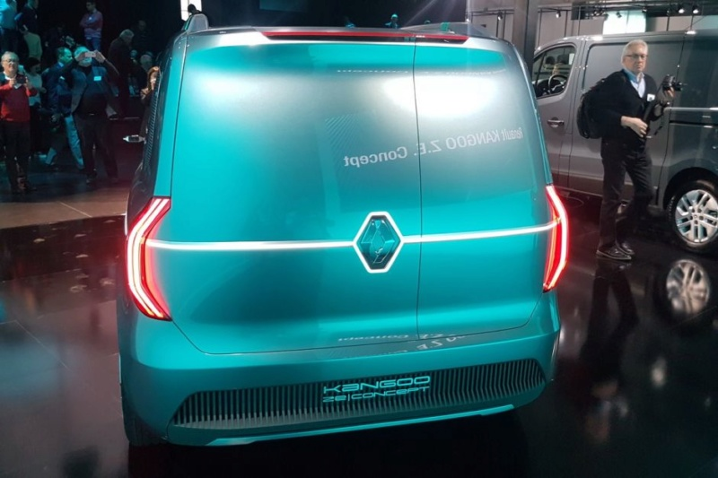2019 - [Renault] Kangoo Z.E Concept B510