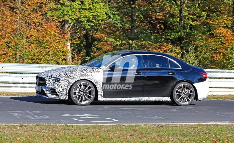 2018 - [Mercedes-Benz] Classe A Sedan - Page 6 B61d1310