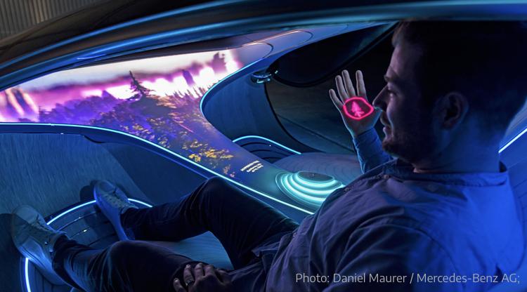 2020 - [Mercedes] Vision Avtr concept B6333610