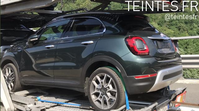 2018 - [Fiat] 500X restylé - Page 2 Ba2d6d10