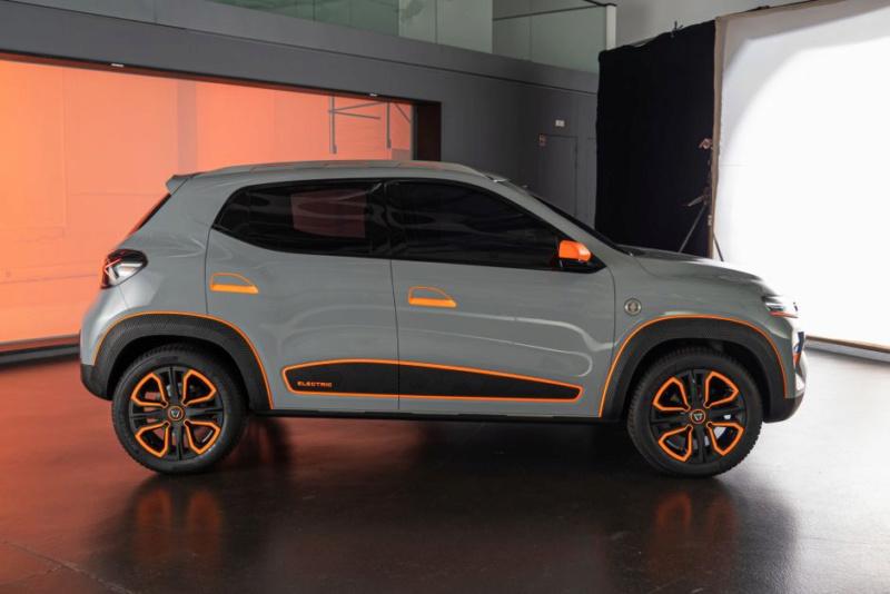2020 - [Dacia] Spring (show car) Bddf7710