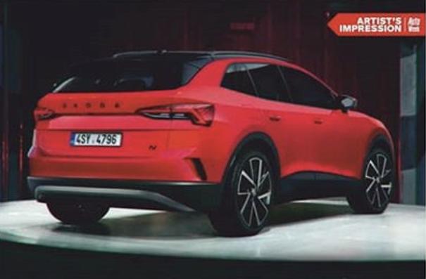 2021 - [Skoda] SUV EV C21be610
