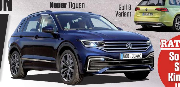 2020 - [Volkswagen] Tiguan II restylé  - Page 2 C4489f10