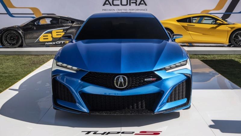 2019 - [Acura] Type S Concept Ccb3c510