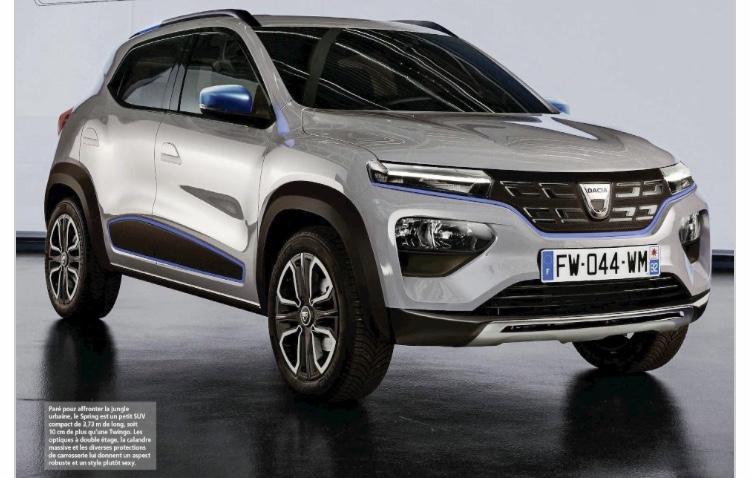 2021 - [Dacia] Urban City Car EV D8e05610