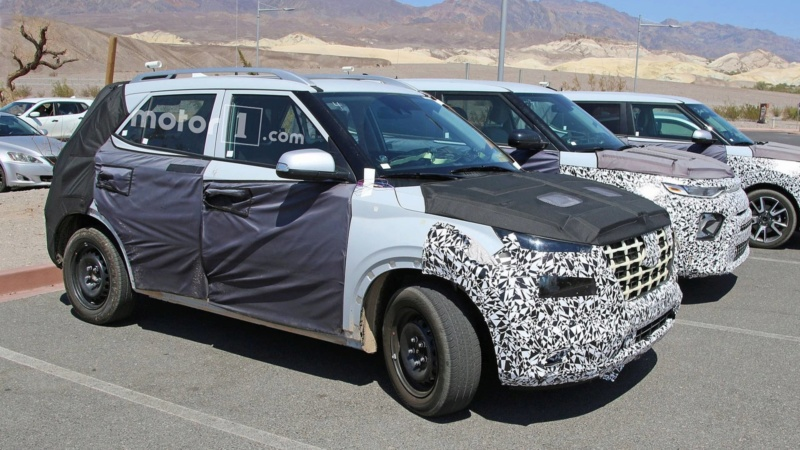 2020 - [Hyundai] Venue SUV compact  Ddee5910