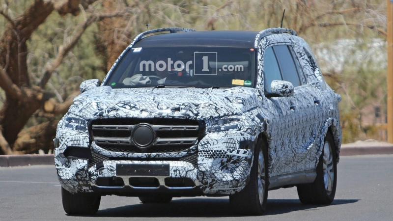 2018 - [Mercedes] GLS II - Page 4 E0195f10