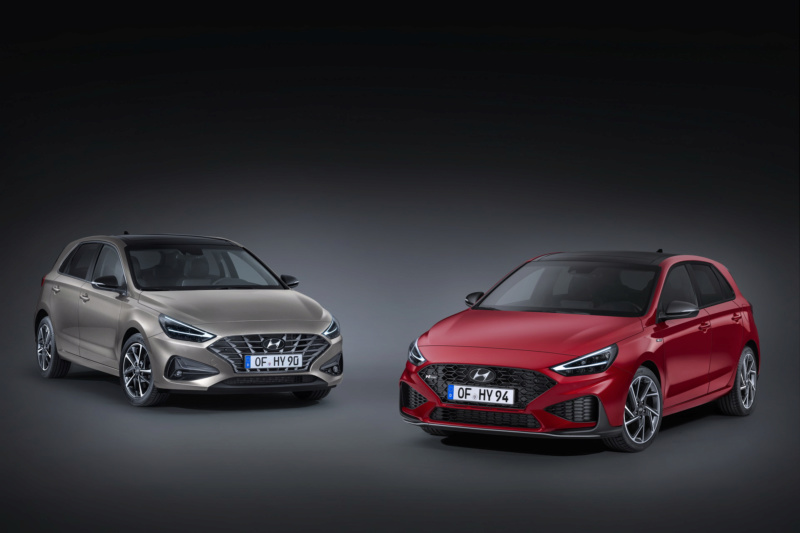 2020 - [Hyundai] I30 III 5p/SW/Fastback Facelift E4899c10