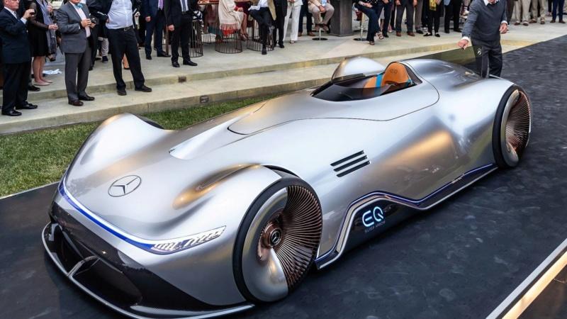 2018 - [Mercedes] EQ Silver Arrow Concept (Pebble Beach) - Page 2 E53f2010