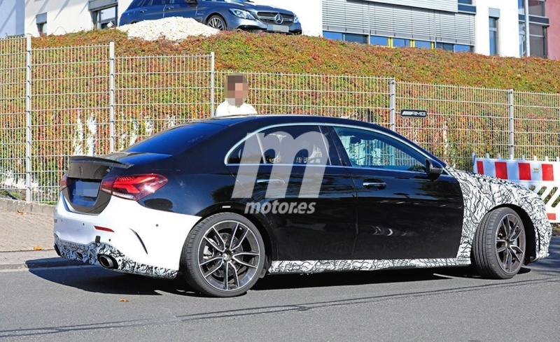 2018 - [Mercedes-Benz] Classe A Sedan - Page 6 Ebc07610