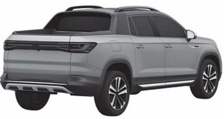 2020 - [Volkswagen] Tarok / MQB Pick-Up  Ecfaa210