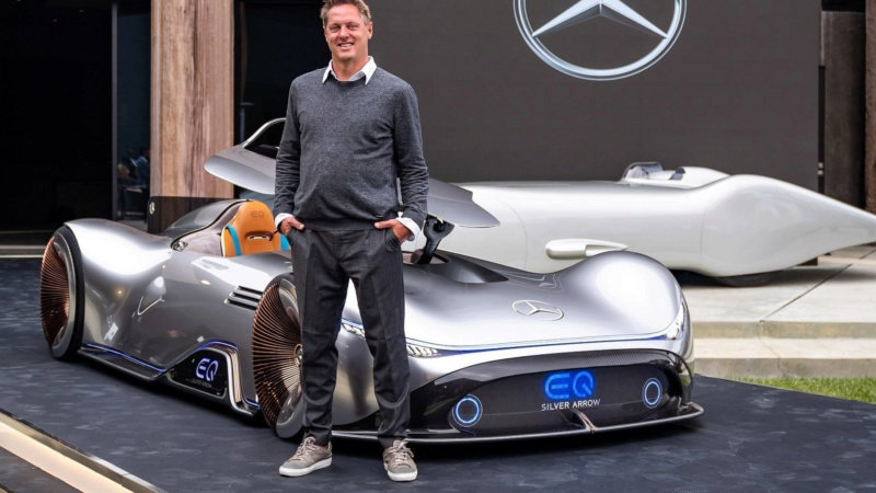 2018 - [Mercedes] EQ Silver Arrow Concept (Pebble Beach) - Page 2 Ee3a3010