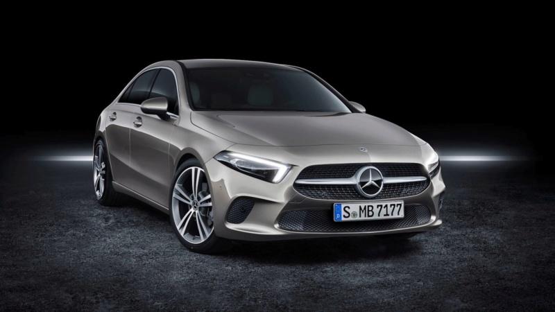 2018 - [Mercedes-Benz] Classe A Sedan - Page 5 Efdc6d10
