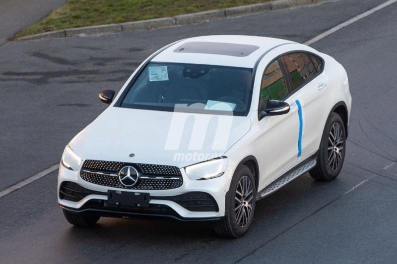 2018 - [Mercedes-Benz] GLC/GLC Coupé restylés - Page 2 F5fb2d10
