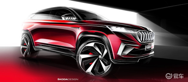 2019 - [Skoda] Vision GT Concept  Fade6a10