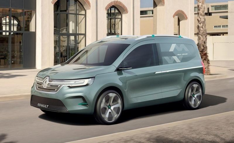 2019 - [Renault] Kangoo Z.E Concept K110