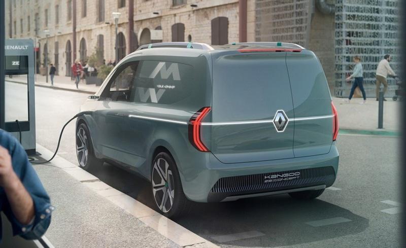 2019 - [Renault] Kangoo Z.E Concept K210