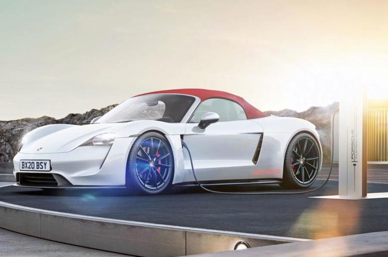2021- [Porsche] 718 Boxster P211