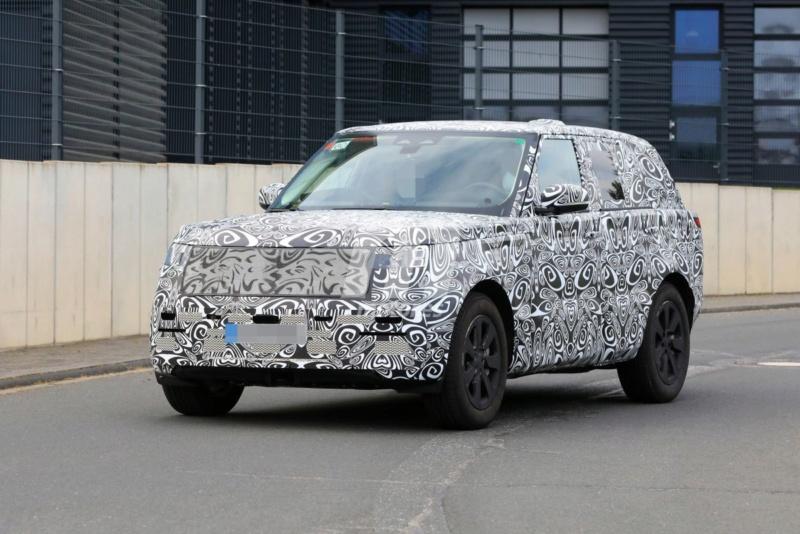 2021 - [Land Rover] Range Rover V Range-40