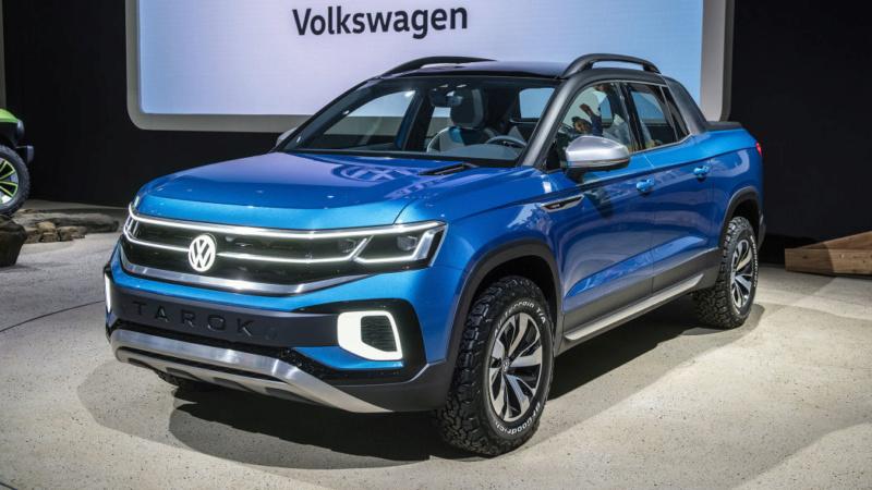 2020 - [Volkswagen] Tarok / MQB Pick-Up  T212