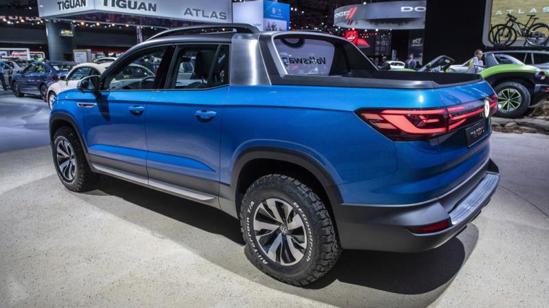 2020 - [Volkswagen] Tarok / MQB Pick-Up  T612