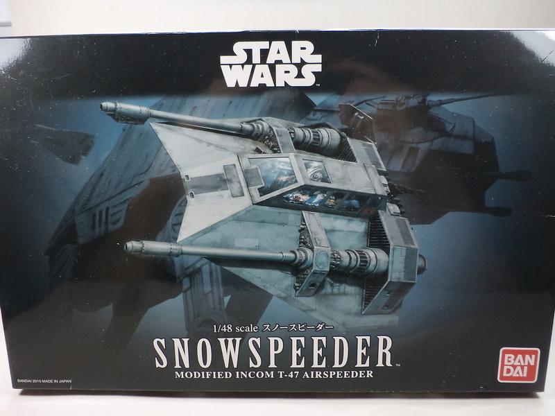 SNOWSPEEDER [ Bandaï 1/48] Dsc00010