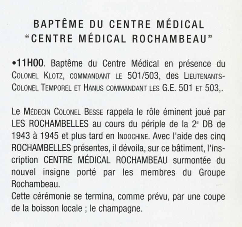 Insigne Rochambeau  Groupe10