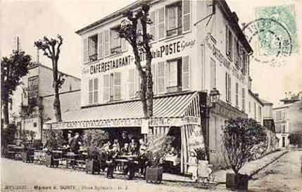 Identification de chars ayant libéré la ville de Meudon. Hotel_10