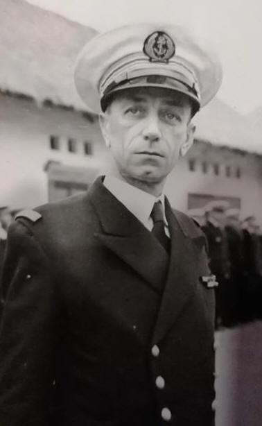 Portrait d'un officier du RBFM sur ibé Martin10