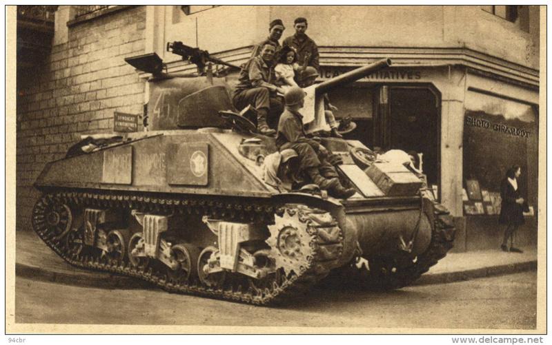 M4A2 du 501e sur delcampe Mort-h13