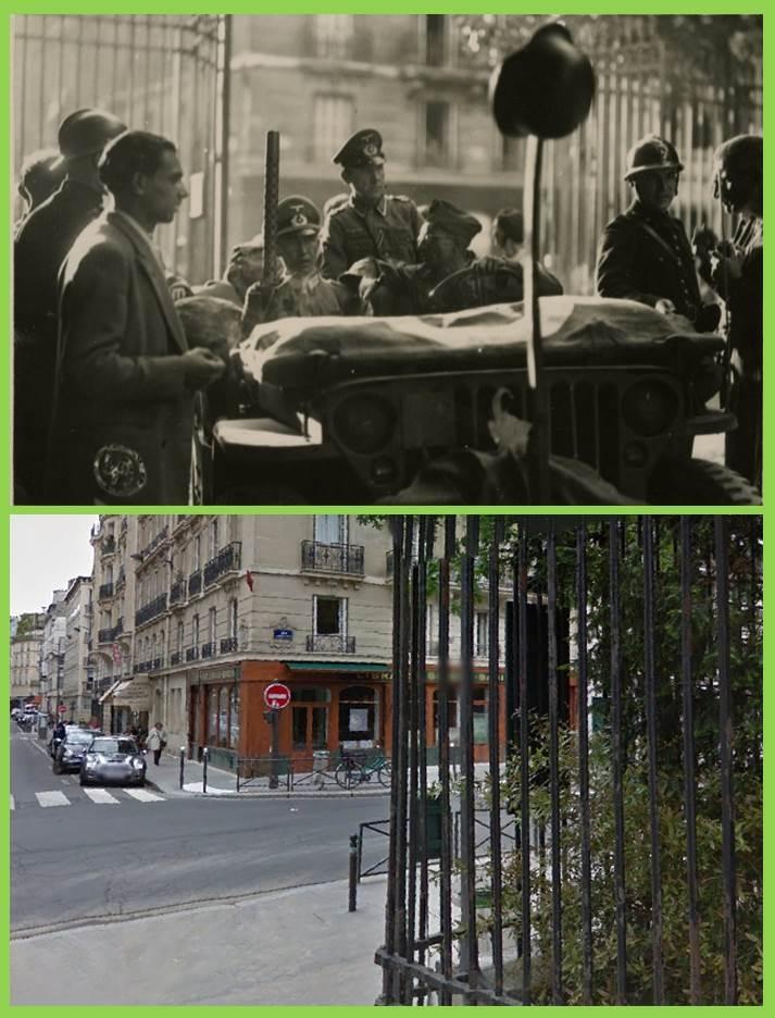 jeep réddition jardins du Luxembourg et HT CMT Montparnasse Paris10