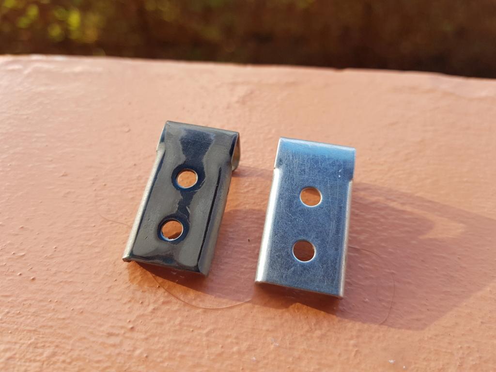 Bleuissage du métal au chalumeau 20191230