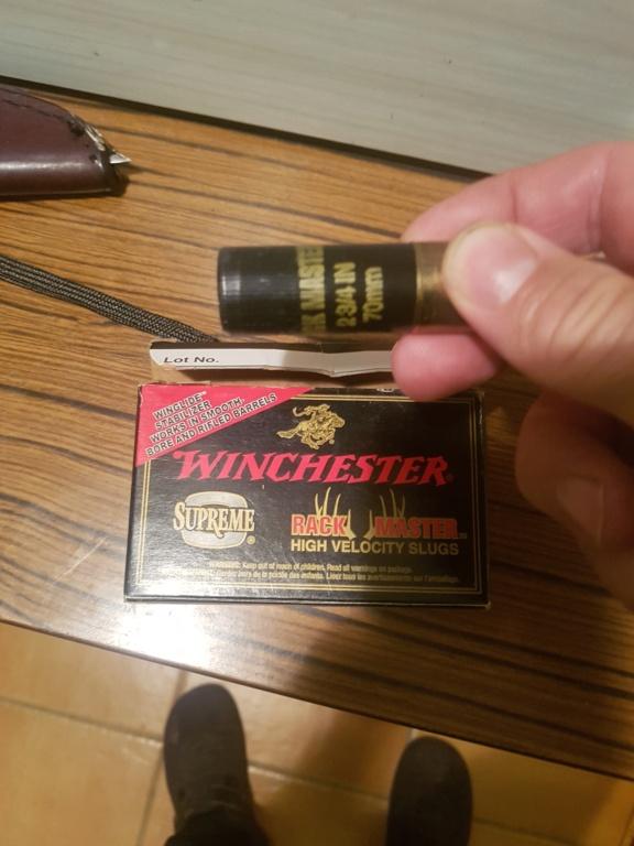 Balles Winchester Rack Master 20201010