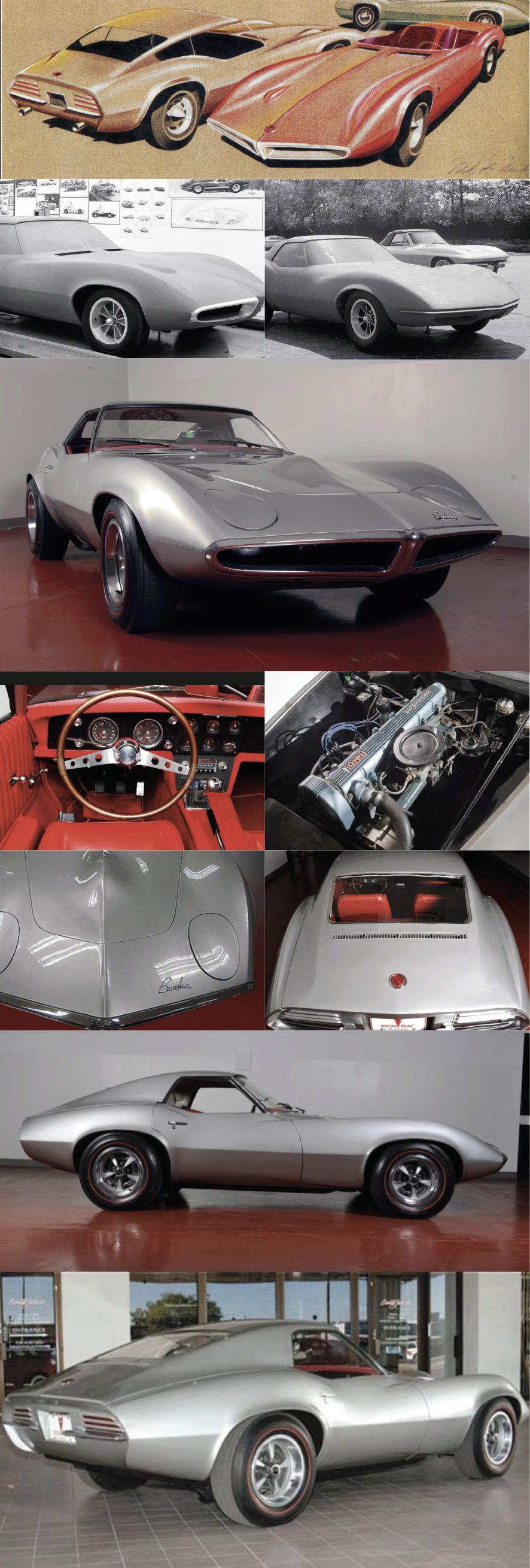 La corvette C3 dessinée dés le début des années 60 ... Banshe10