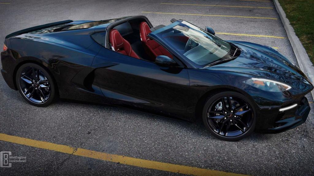Le nouveau design de la Corvette C8 se précise ... Corvet21