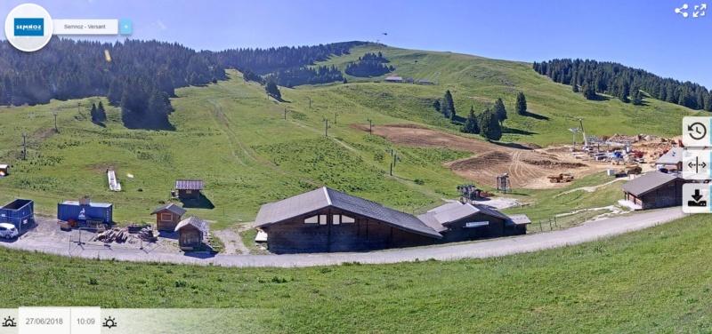 Construction TMX Belvédère, TKE Aigle & Bambi - Chantiers le Semnoz 1012