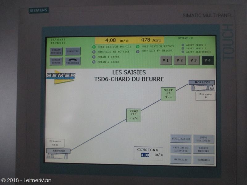 Télésiège débrayable 6 places (TSD6) du Chard du Beurre - Les Saisies (Espace Diamant) 1215