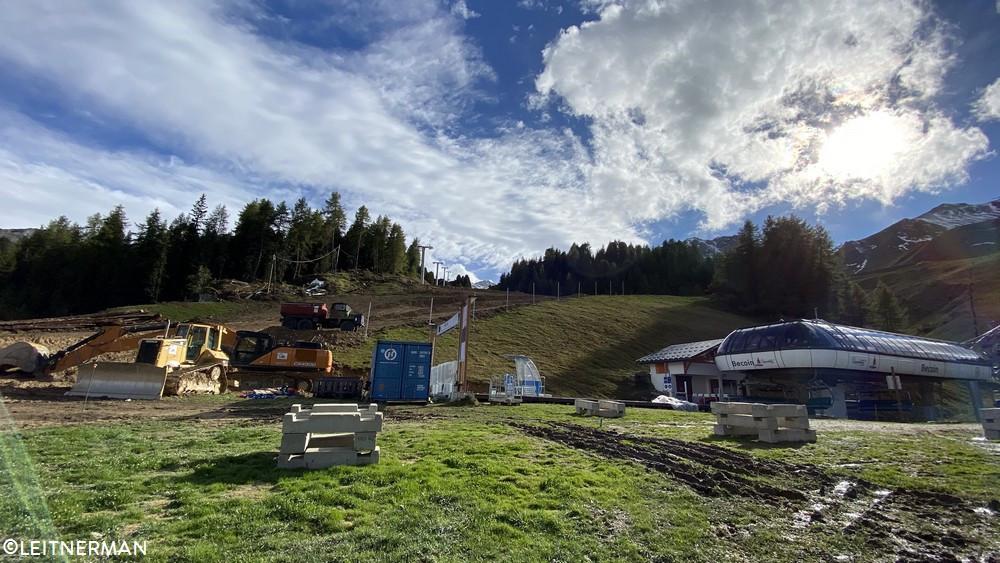 Construction TSD6 Lovatière | La Plagne (Paradiski) 128