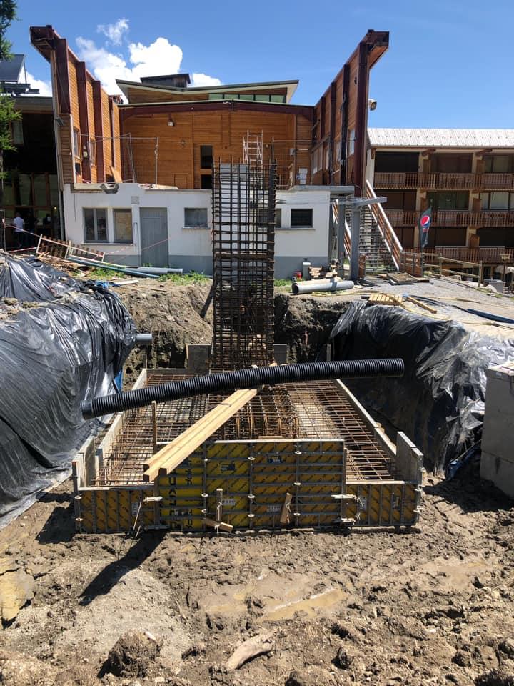 Construction TCD6 de Costebelle - Praloup (Espace Lumière) 1415