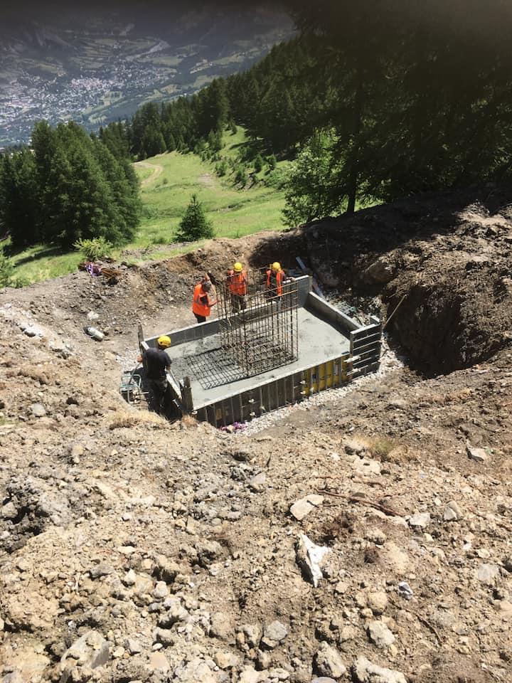Construction TCD6 de Costebelle - Praloup (Espace Lumière) 1514