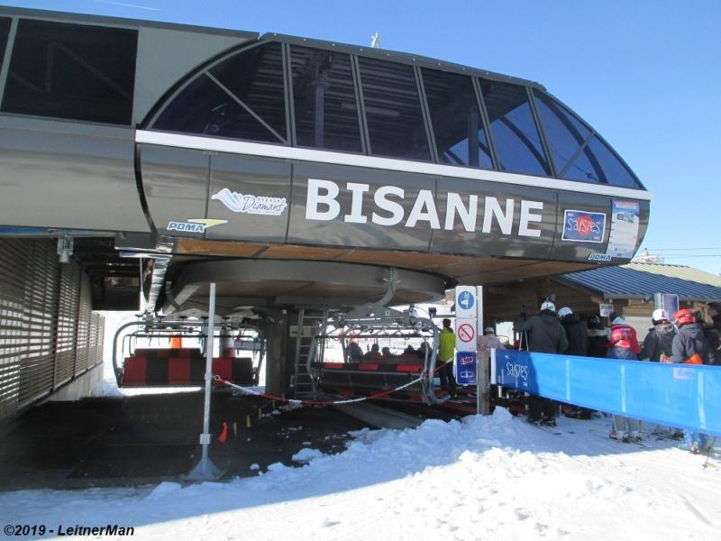 Télésiège débrayable 6 places (TSD6) de Bisanne | Les Saisies (Espace Diamant) 2013