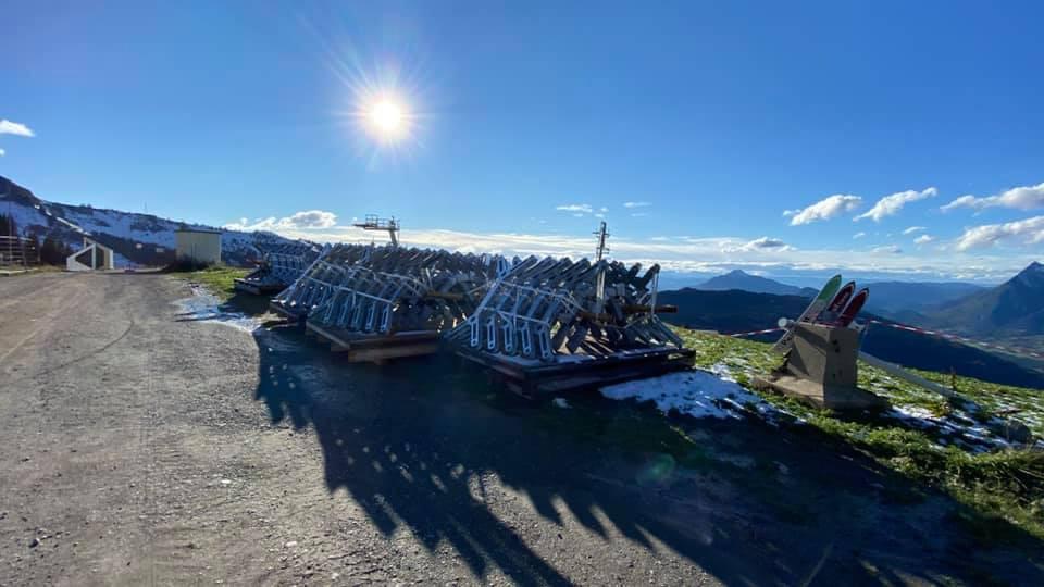 Remplacement télécabine débrayable de Vercland (Saix) - Samoëns 2120