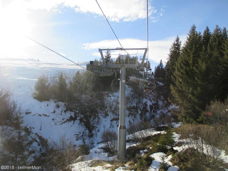 Télésiège à attache débrayables 4 places (TSD4) du Bisanne | Les Saisies (Espace Diamant) 2213