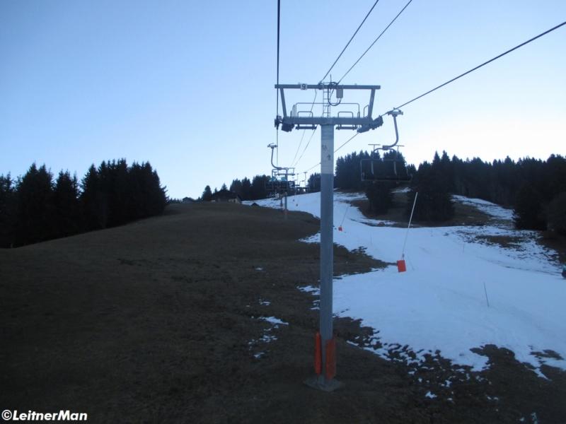 Télésiège à attaches débrayables 4 places (TSD4) de La Logère - Crest-Voland (Espace Diamant) 2223