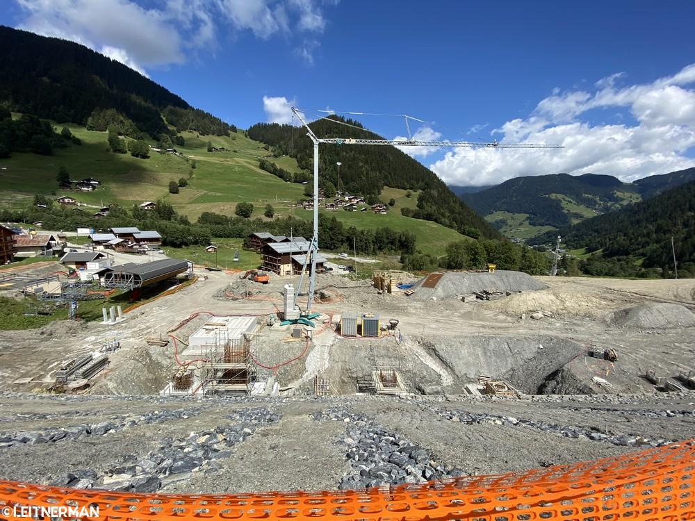 Construction Télécabine débrayable 10 places (TCD10) du Bois - Arêches 2316