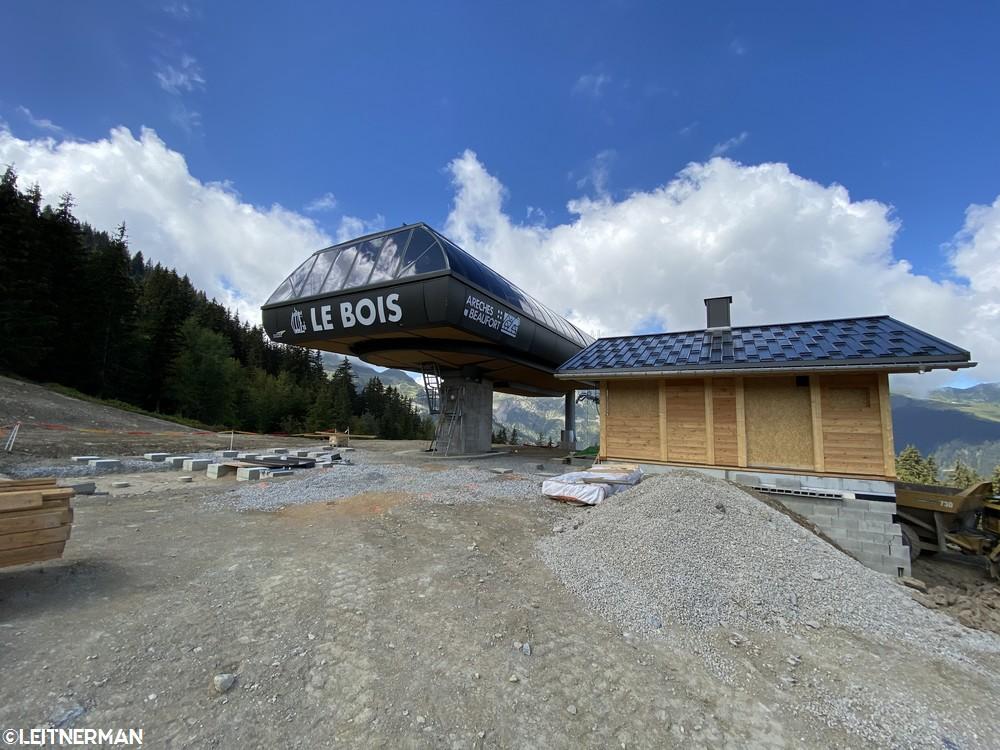 Construction Télécabine débrayable 10 places (TCD10) du Bois - Arêches 232