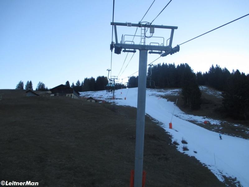 Télésiège à attaches débrayables 4 places (TSD4) de La Logère - Crest-Voland (Espace Diamant) 2421