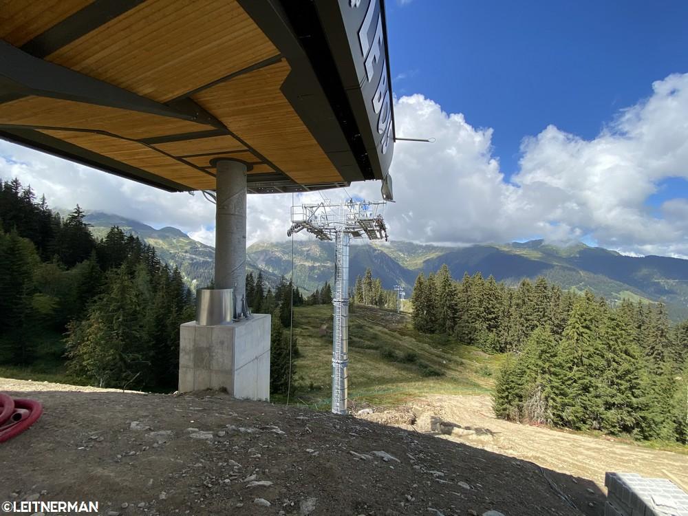 Construction Télécabine débrayable 10 places (TCD10) du Bois - Arêches 327