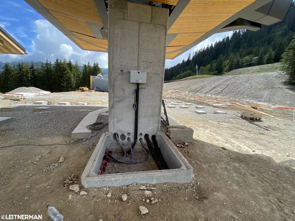 Construction Télécabine débrayable 10 places (TCD10) du Bois - Arêches 424