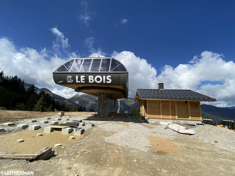 Construction Télécabine débrayable 10 places (TCD10) du Bois - Arêches 525